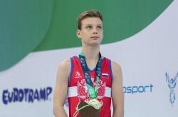 «Золото» Первенства мира по прыжкам на батуте завоевал спортсмен из Приморья