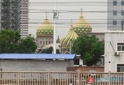 В Китае построили гигантскую копию храма Василия Блаженного