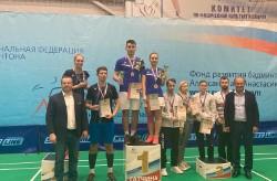 Приморские бадминтонисты отличились на личном чемпионате России