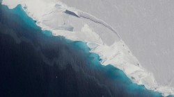 В Антарктиде произошло крушение НЛО