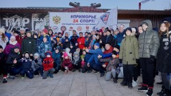 Известный российский самбист дал мастер-класс в Приморье