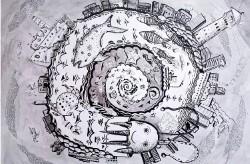 Юная художница из Приморья представит «Россию глазами ребенка» в Турине