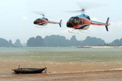 Туры по Красной реке на вертолете открыли во Вьетнаме