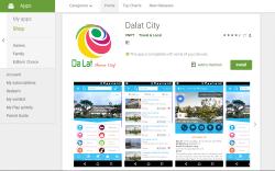 Далат запустил мобильное приложение для туристов