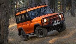 Стартовали продажи новой версии внедорожника «УАЗ Хантер»